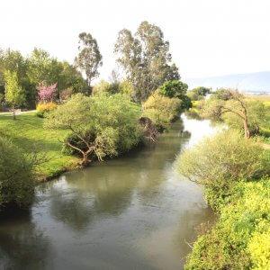 מסלול שייט קייקי כפר בלום