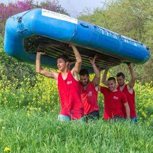 צוות קייקי כפר בלום