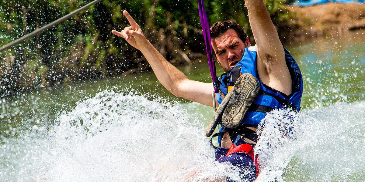 slide-water
